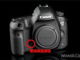 canon 5d mark iii按键设计理念