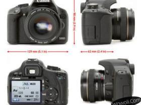 佳能500d单反相机