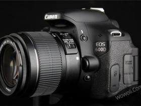 canon eos 600d外观细节展示
