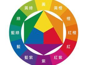 12色相环