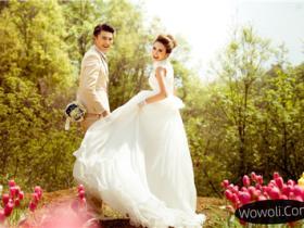 珍妮花婚纱摄影