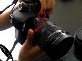 相机换镜头时注意这些才能延长相机的寿命