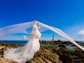 三亚海景婚纱摄影