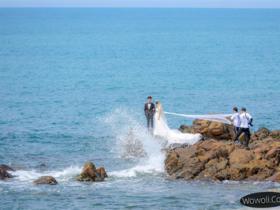 三亚天涯海角婚纱摄影攻略