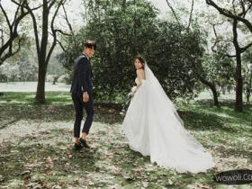 城市花园婚纱摄影
