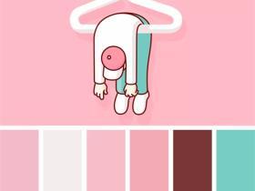 粉色的对比色