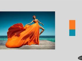 橙色的对比色