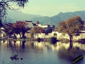 皖南古村落——西递宏村摄影图片
