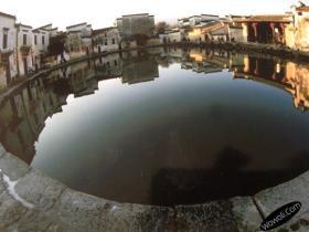 皖南古村落——安徽宏村摄影图片