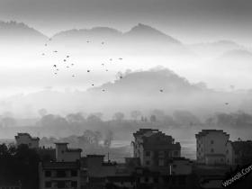 皖南古村落——歙县古城图片
