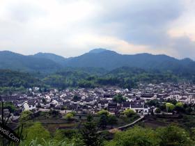 皖南古村落——查济古镇摄影图片