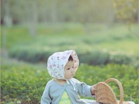 儿童森系主题摄影
